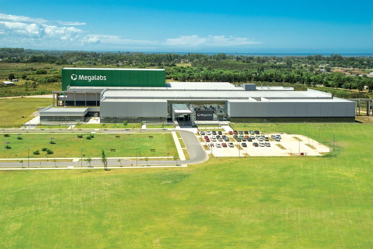 Química e Derivados - Principal fábrica da Megalabs está localizada no Uruguai